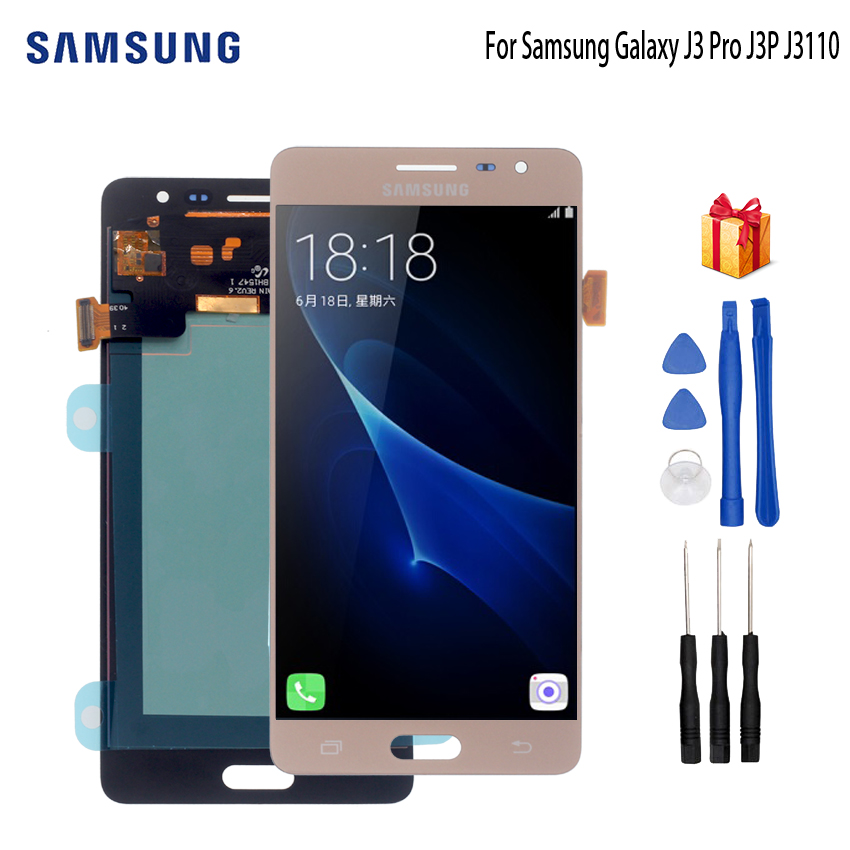 AMOLED For Samsung Galaxy J3 PRO LCD Display Touch Digitizer Screen Sensor For Samsung J3110 Display J3P J3109 J3119 Screen LCDAMOLED For Samsung Galaxy J3 PRO LCD Display Touch Digitizer Screen Sensor For Samsung J3110 Display J3P J3109 J3119 Screen LCD