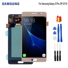AMOLED For Samsung Galaxy J3 PRO LCD Display Touch Digitizer Screen Sensor For Samsung J3110 Display J3P J3109 J3119 Screen LCD