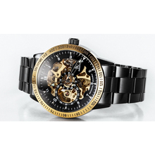 Luxury Fashion Mechanical Skeleton Male Waterproof Men Watch Brand Stainless Steel Strap Casual Wristwatch Relogio Masculine