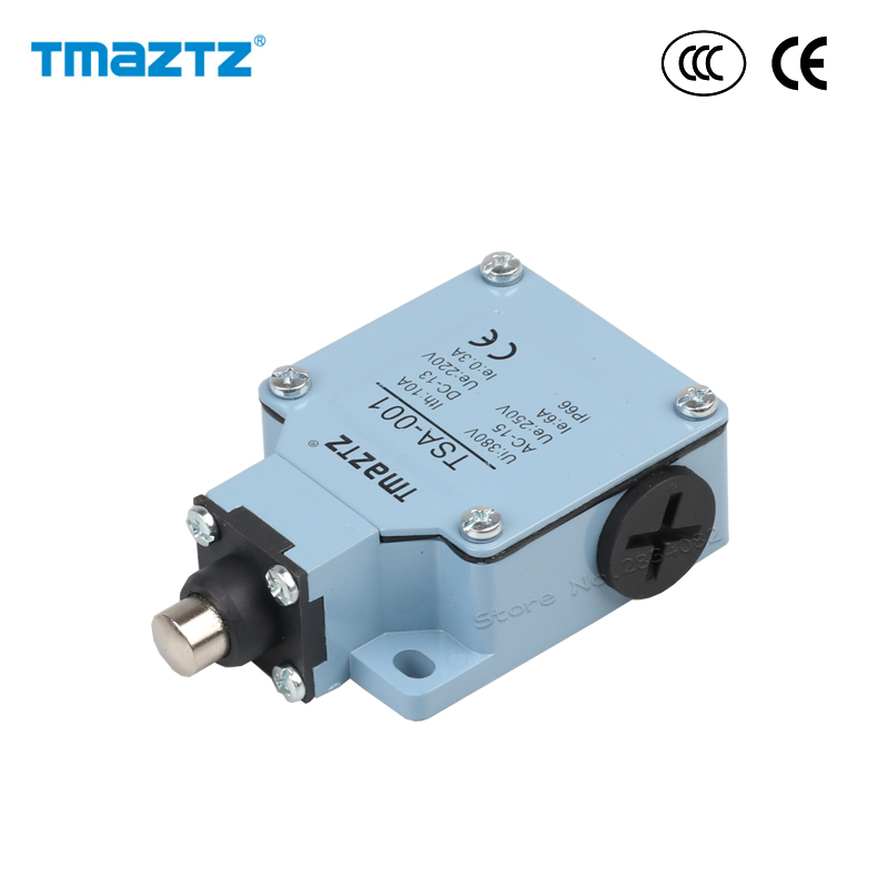 2 a,125,250vac/6 ,380vac Stainless Steel Head Metal Switch Ip66 Waterproof Tsa-001 High Quality 4 Responsible Limit Switch Ac Dc No Nc 10