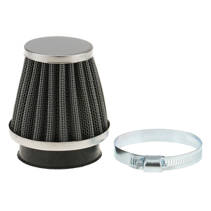 Image 2 - 1 Pcs Universal Air Filter Rubber Connector For 50mm Filter Pod Internal Diameter Motorcycle ATV Etc