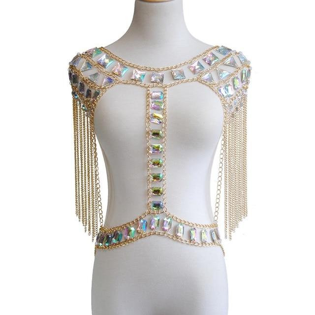 Women Body Jewelry Tassel...
