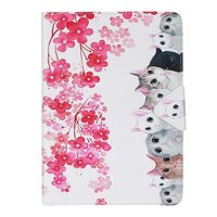 A Group Of Cats Pattern Leather Flip Case For Apple IPad Air1 2 IPad Mini 2