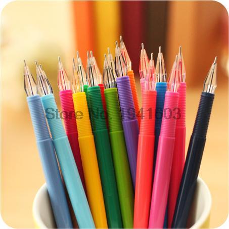 1de3198d 12 sztuk/partia Śliczne Kawaii Cartoon Kolorowe Gel Pen z Diamentami Dla  Dzieci Student Szkoły Dostaw Hurtowych Prezent 029