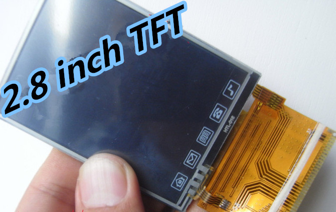 Noenname_null Neue 2,8 Zoll Tft-bildschirm Mit Touch Panel St7785 Stick 37pol Lcd Display Videospiele