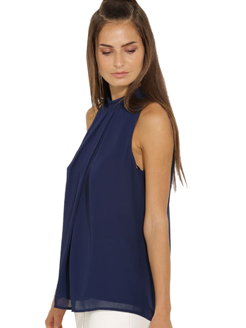 Compare Prices on Navy Blue Womens Shirts- Online Shopping/Buy Low ...