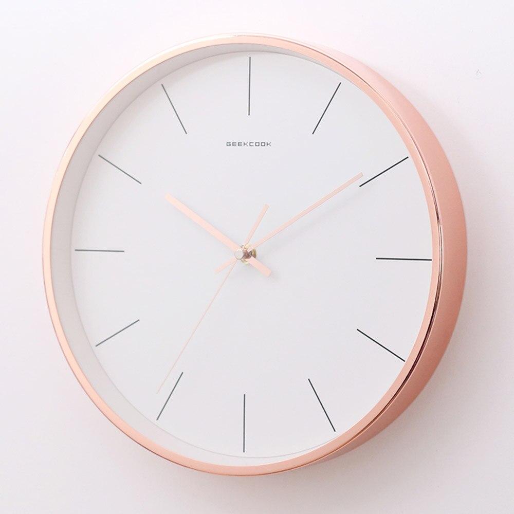 Scandinavian Style Creative Modern Simple Measure Silent Wall Clock