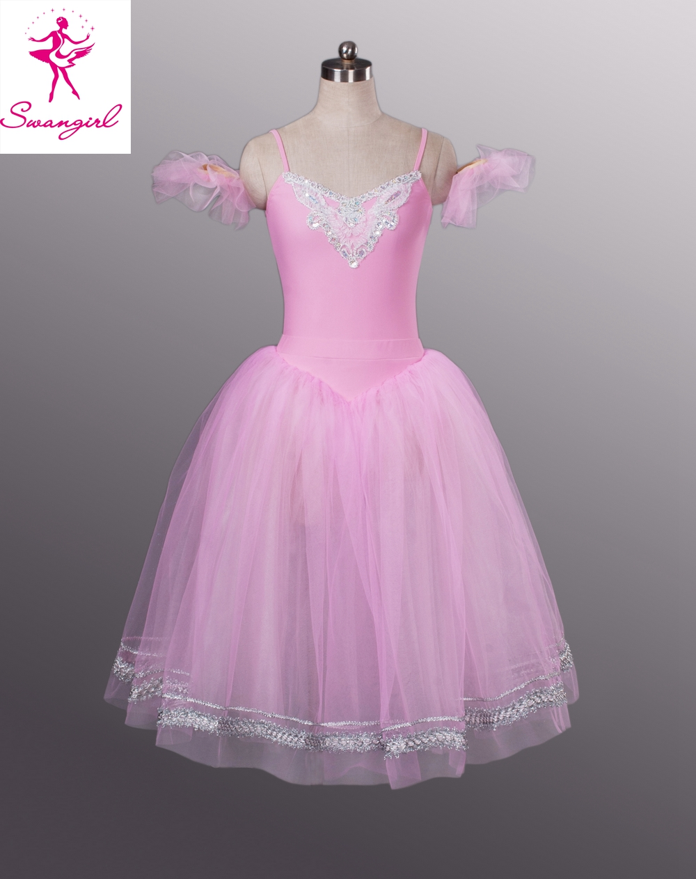 Green Giselle Ballet Dress Professional Costumes For Girls In Pinkwhiteblue BT8954 From Novelty Special Use On