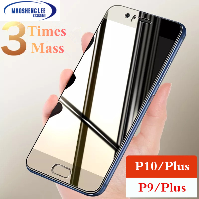 9H Tempered Glass For Huawei P10 Plus P9 Plus Full Tempered Glass Screen Protector For Huawei P9 P10 Plus Glass Protective Film