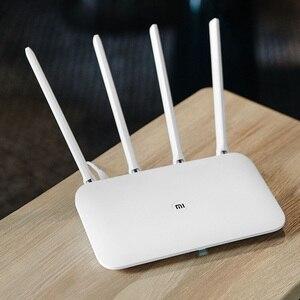 Image 4 - Xiao mi mi WIFI Router 4 WiFi Repeater 1167 Mbps Dual Band Dual Core 2.4G 5 Ghz 802.11ac Bốn anten ỨNG DỤNG Điều Khiển Bộ Định Tuyến Không Dây
