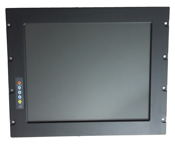 все цены на  9U Rack Mount Industrial LCD Monitor, 19-inch LCD, With industrial Grade Touchscreen, Provide custom design services  онлайн