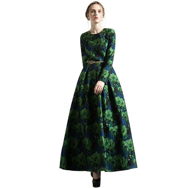 Bekend Jurk groen lange mouw – Populaire jurken uit de hele wereld FB08