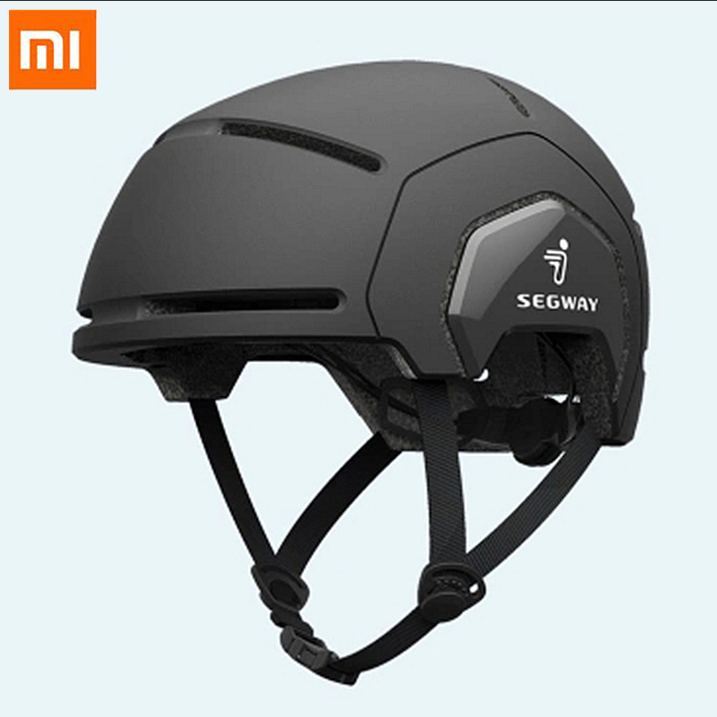 Xiaomi Mijia Segway casque de vélo hommes femmes Simple mode PC léger étanche Moto Scooter Skate casque de sécurité chapeau