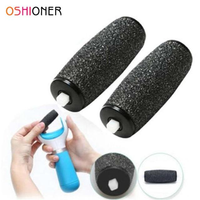 1 пара инструмент для ухода за ногами терка для ступней Замена заправок инструмент для ухода за ногами сменный ролик удалить мозолую кожу