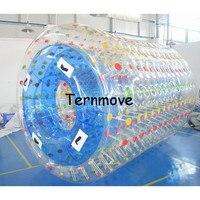 Надувной Зорб валик, 0,8 мм ПВХ прозрачные воды водяные шары, надувной Human Hamster шары, гуляя ролик на воды