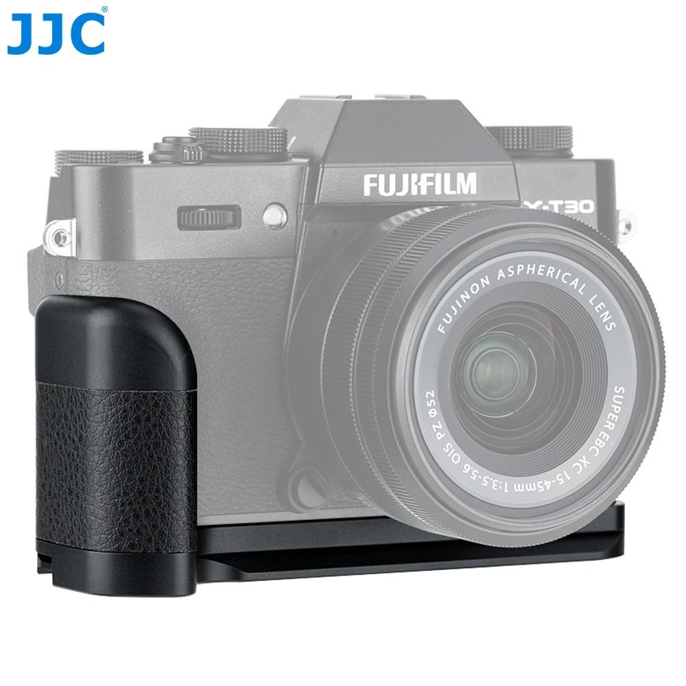 JJC Camera Hand Grip Quick Release Plate L Bracket For Fujifilm X-T30 X-T20 X-T10 XT30 XT20 XT10 Cameras Replaces Fuji MHG-XT10