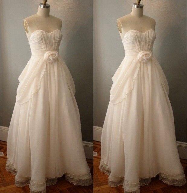 Flower Lace Chiffon Bridesmaid Gown Red Navy Blue Peach Ivory Champagne  Silver Yellow Hunter Pink Hot Chiffon Bridesmaid Dresses c20b8671b3ba