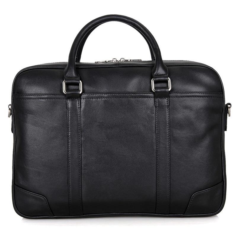 HTB1Ka4TsKuSBuNjSsplq6ze8pXae Nesitu Black Brown Genuine Leather Office Men Briefcase Messenger Bags Real Skin Business Travel Bag 14'' Laptop Portfolio M7349