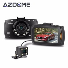 Azdome G30B Dual Lens Car DVR Front font b camera b font Full HD 1080P External