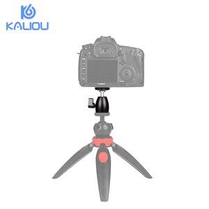 """Image 5 - Kaliou 一脚の 360 スイベル一眼レフ DV カメラミニ三脚 Dsr ボールヘッド 1/4 """"ネジマウントスタンドデジタル一眼レフミニ三脚"""