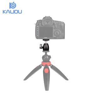 """Image 5 - Kaliou Mini trípode cabeza de bola de 360 giratorio DSLR DV cámara Mini trípode Dsr Ballhead 1/4 """"soporte de montaje de tornillo DSLR Mini trípode"""