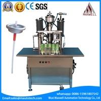 Aerosol Filling Machine Insecticide Auto Spray Paint Polyurethane Foam Sealant Mousse Air Fresheners Disinfectant Fill Machine