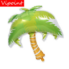 VIPOINT PARTY 90x80cm green coconut palm tree foil balloons wedding event christmas halloween festival birthday party HY-252