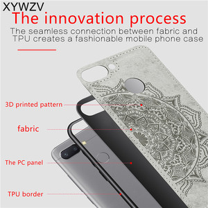 Image 3 - Xiaomi Redmi 6 耐震ソフト TPU シリコーン布テクスチャハード PC 電話ケース Xiaomi Redmi 6 裏表紙 Xiaomi redmi 6 Fundas