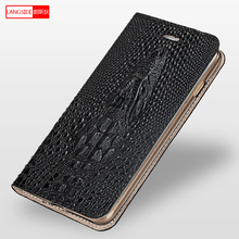 Genuine Leather Flip cover for xiaomi redmi note 6 pro 3D faucet Multifunction phone Cover shockproof 9 8 8SE coque