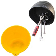 Oto bakım aracı yedek parça manyetik plaka tepsi saklama kutusu mıknatıs pot parçaları vida, 15 cm çapı.
