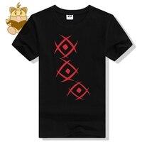 Een stuk hot karakter Luffy's vader Aap D Dragon tattoo printing t-shirt Aap d draak t-shirts katoen ac471