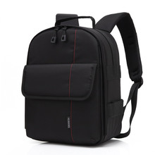 Huwang P1 Waterproof Digital DSLR Photo Padded Backpack w/ Rain Cover Multi-functional SLR Camera Soft Bag Video Case