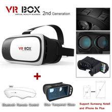 ที่ร้อนแรงที่สุดVRแว่นตาG Oogleกระดาษแข็งVR BOXความจริงเสมือนแว่นตา3Dที่มีการควบคุมบลูทูธสำหรับโทรศัพท์