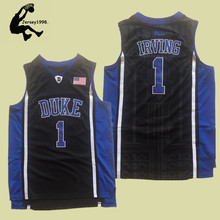 Cheap Kyrie Irving Basketball Jerseys 1  Duke University Blue Devils High  Quality Throwback Stitched Commemorative 6db4adc7f