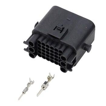 36 контактный разъем черный пластиковый автомобильный разъем для компьютерной платы с клеммой DJ7361-1.5-11 разъем 36 P
