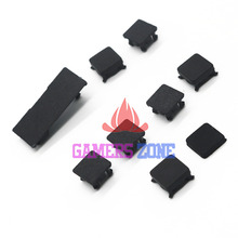 20sets For Playstation 3 PS3 Slim rubber boot pad feet plastic screw cover kit 9 pieces hdd swivel door