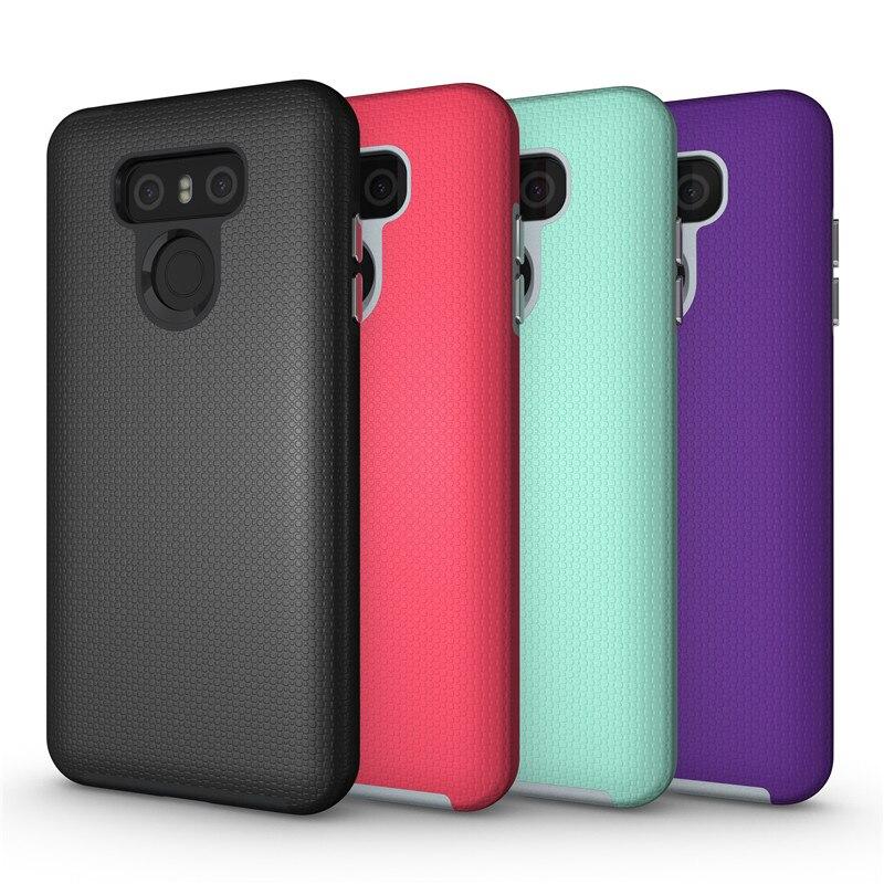 For LG G5 Non <font><b>Slide</b></font> Shockproof Armor <font><b>Case</b></font> For LG G6 Hybrid PC+TPU Cover Capa