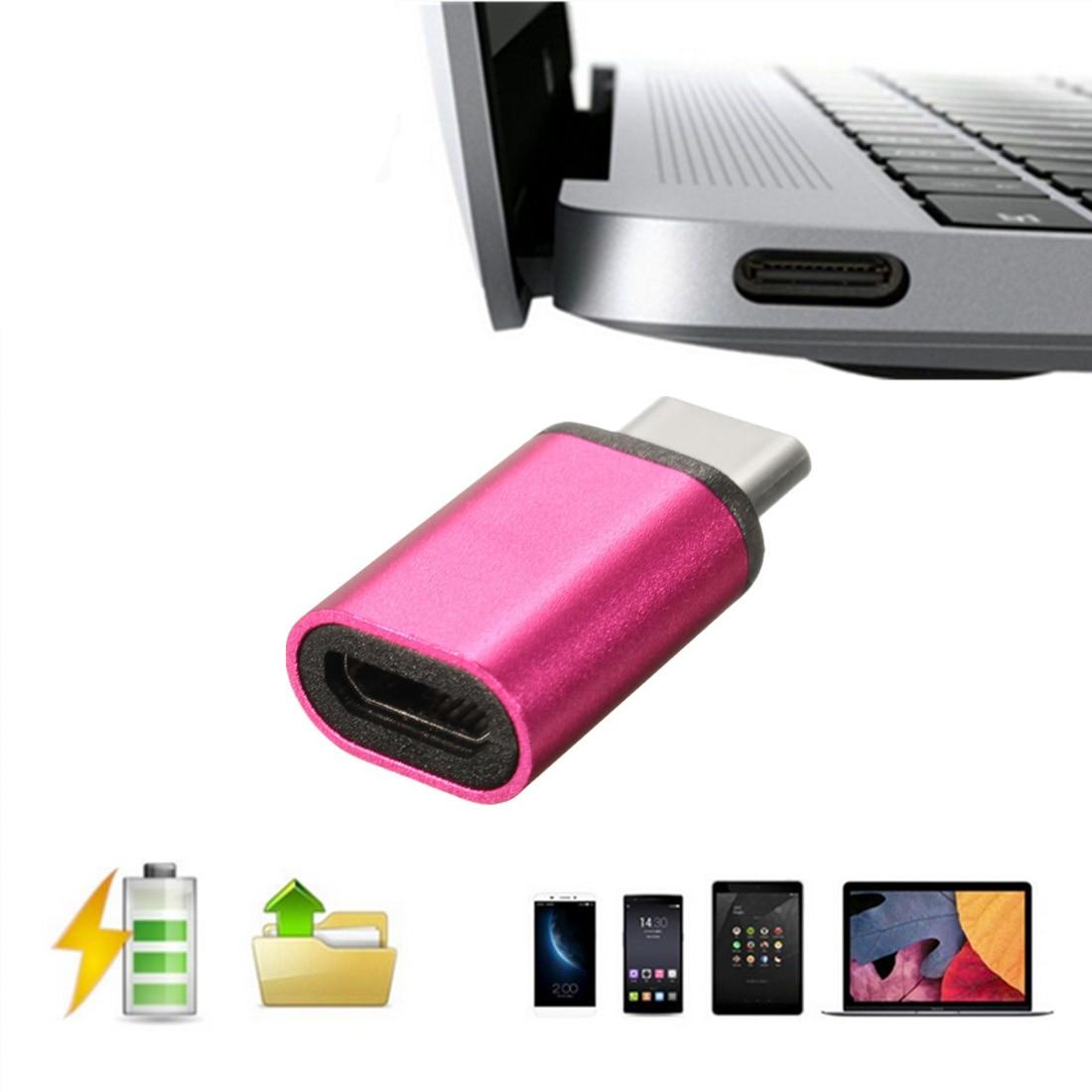 Etmakit USB Type C Male Connector to Micro USB Female Converter USB-C Type-C Adapter for OnePlus 2 Nexus 5X 6P