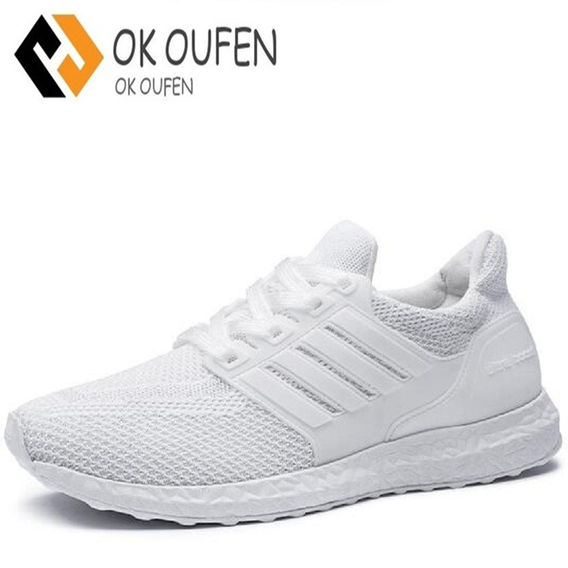 Z.suo 2018 Men Casual Shoes Mens Trainers Flat Comfortable Breathable  Superstar Trainers Red Bottom Zapatillas Ultra Boosts-in Men s Casual Shoes  from Shoes ... 54bc1a715