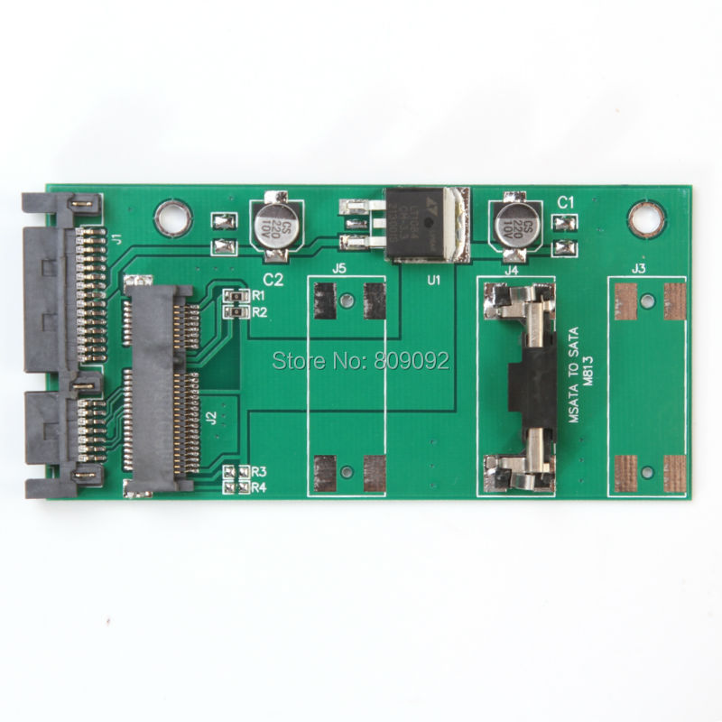 MINI PCIE to SATA /mSATA adapter SSD card for 2.5 inch SATA Converter
