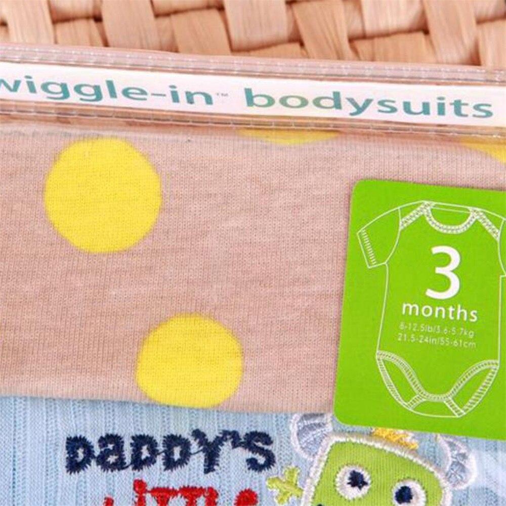 ŁATWY WIELKI Śliczny Piękny 5 Sztuk / paczek 100% Bawełna Body - Odzież dla niemowląt - Zdjęcie 5
