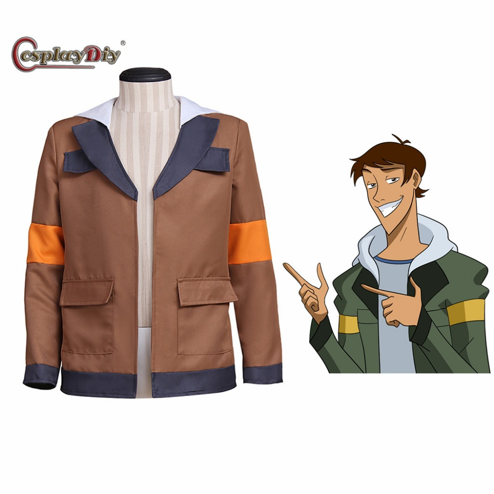 Cosplaydiy Voltron: Legendary Defender Lance Cosplay Costume Lance Hood Jacket For Halloween Carnival Top Coat Custom Made J10