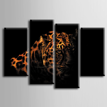 TOP Sale Framed Printed Leopard series Painting Sitting Room Decor Print Poster Picture Canvas Home Decoration