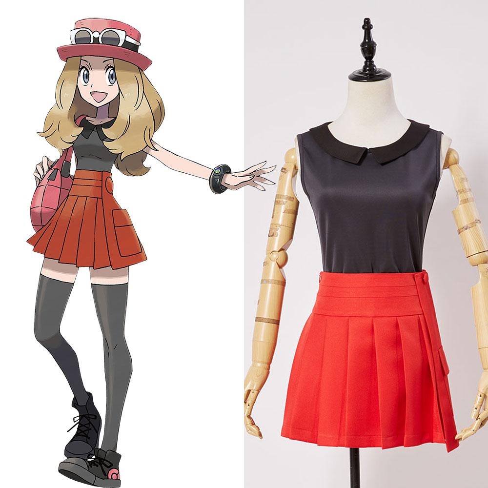 font-b-pokemon-b-font-xy-before-kalos-quest-serena-default-outfit-cosplay-costume-lady-women-suit-uniform-dress