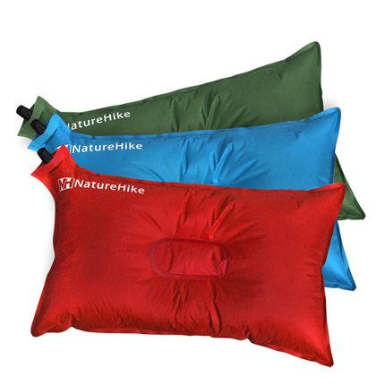 travel inflatable pillow outdoor portable tourism comfortable lumbar support pillow waist automatic inflation pillow