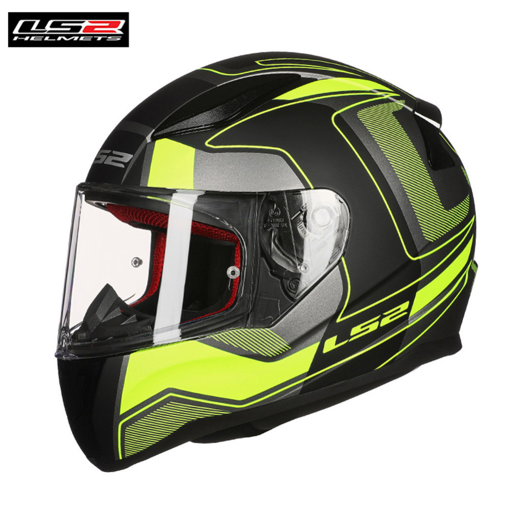 LS2 FF353 Racing Full Face Motorcycle Helmet Capacete Casque Casco Moto Kask Helm Touring Helmets Kaski Motocyklowe original ls2 ff353 full face motorcycle helmet high quality abs moto casque ls2 rapid street racing helmets ece approved