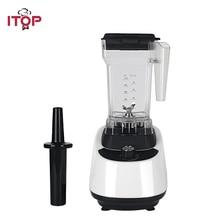 ITOP 1.5L Blender Electric Tabletop Food Mixer 110V/220V Vegetable Fruit Mixing Machine White