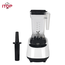 ITOP 1.5L Blender Electric Tabletop Food Mixer 110V/220V Vegetable Fruit Mixing Machine White baby assist food machine fruit vegetable mill grinder electric baby food steam cooking mixing machine bl1601
