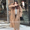Casual Long Sleeve Women Trench Coat Plus Size Solid Long Coat Overcoat 2 Colors Women Spring Coat Casaco Feminino Trench Coat