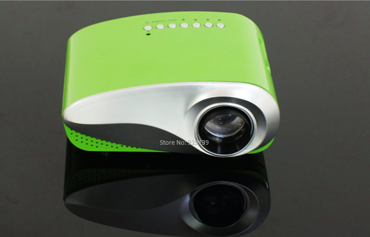 mini projector green pic 4
